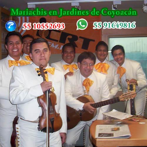 Mariachis en Jardines de Coyoacán