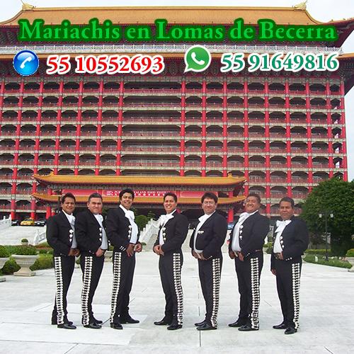 Mariachis en Lomas de Becerra Alvaro Obregon  CDMX