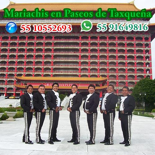 Mariachis en Paseos de Taxqueña