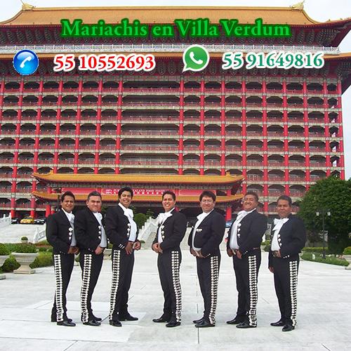 Mariachis en Villa Verdum Alvaro Obregon  CDMX